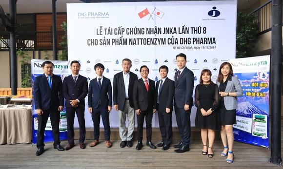 Tái cấp chứng nhận JNKA cho sản phẩm NattoEnzym lần thứ 8