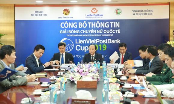 40.000 USD tiền thưởng cho Giải Bóng chuyền nữ quốc tế Cup LienVietPostBank 2019