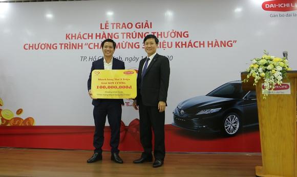 Dai-ichi Life Việt Nam trao giải chương trình