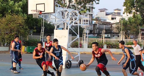 Hấp dẫn Giải Bóng rổ hạng A TP HCM
