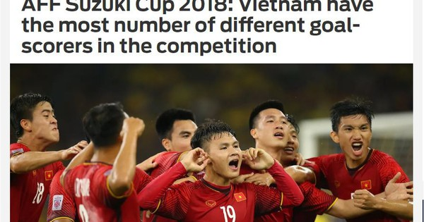 Việt Nam sẽ vô địch vì có nhiều cầu thủ ghi bàn nhất