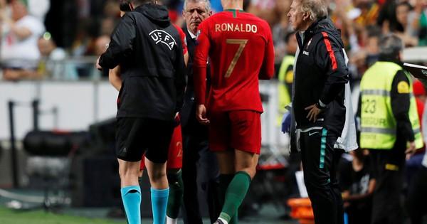 Ronaldo nghỉ chơi sớm, Bồ Đào Nha hòa thót tim sân nhà