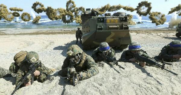 Hậu thượng đỉnh Mỹ – Triều, Mỹ – Hàn có  quyết định bất ngờ  về tập trận chung