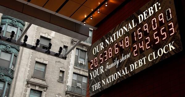 Nợ công nhảy qua mốc 22.000 tỉ USD, Mỹ sắp cạn tiền mặt?