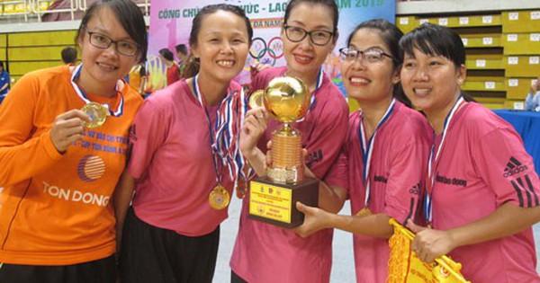 Hội thao Công chức - Viên chức - Lao động TP HCM 2019: Liên đoàn Lao động TP HCM vô địch bóng đá nữ