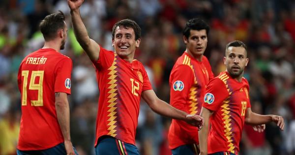 Vắng HLV, Tây Ban Nha vẫn thắng đậm Thụy Điển vòng loại Euro 2020
