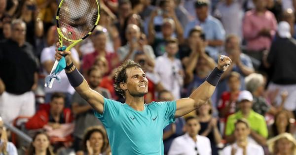 Nadal đang trở lại đỉnh cao