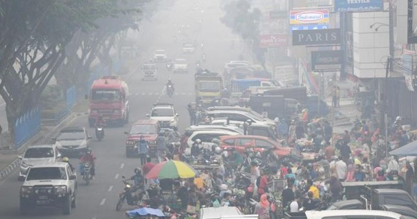 Indonesia: Chất lượng không khí của thủ đô khói mù xuống thấp kỷ lục