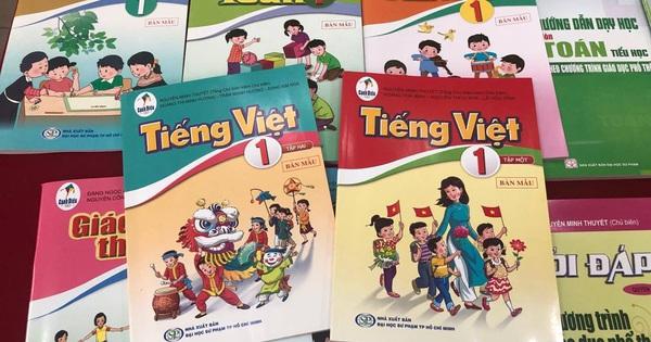 Bộ GD-ĐT thừa nhận trách nhiệm liên quan đến bộ SGK Tiếng Việt 1 Cánh Diều