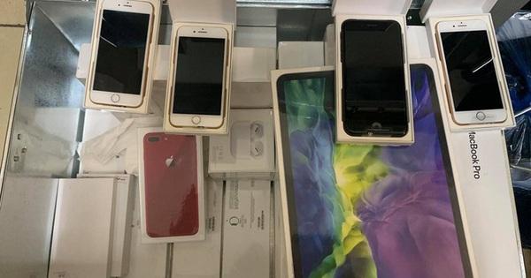 """Ngày làm nhân viên, đêm làm """"đạo chích"""" trộm 21 điện thoại iPhone, iPad, McBook, Apple Watch"""