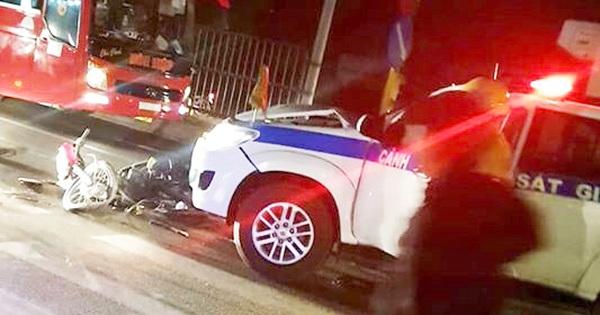 CSGT Vĩnh Long lên tiếng khi bị tố gây tai nạn rồi bỏ trốn