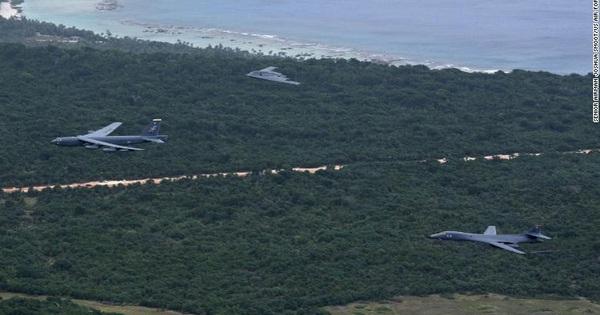 Giải mật hành động bất thường của máy bay ném bom Mỹ ở đảo Guam