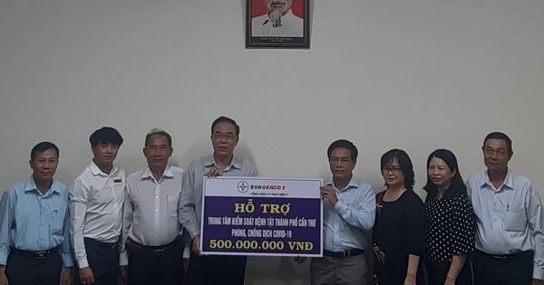EVN GENCO2 hỗ trợ Cần Thơ 500 triệu đồng phòng, chống Covid-19