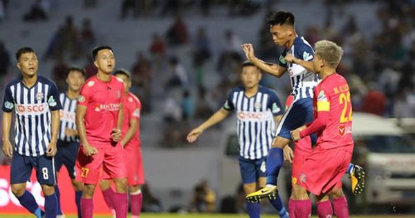 Bà Rịa - Vũng Tàu thắng Sài Gòn FC 2-1: Ấn tượng HLV Trần Minh Chiến