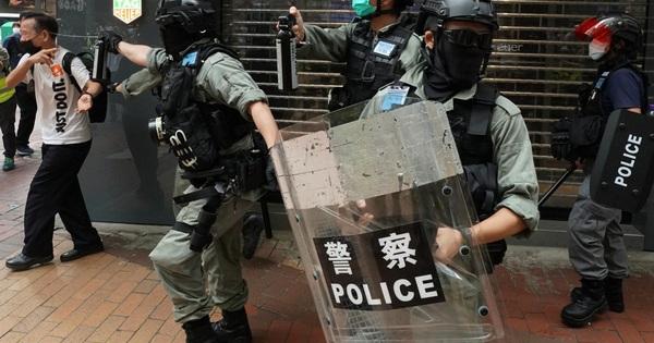 Bộ Công an Trung Quốc tuyên bố hướng dẫn cảnh sát Hồng Kông khôi phục trật tự