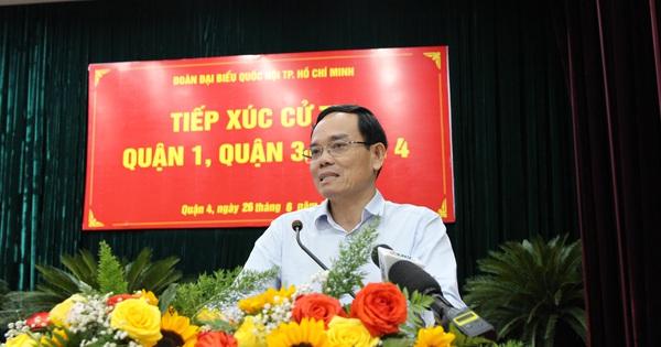 Ông Trần Lưu Quang nói về Khu Đô thị mới Thủ Thiêm