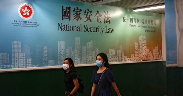 Trung Quốc chính thức thông qua luật an ninh Hồng Kông