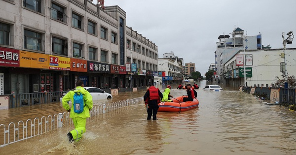 Cơn ác mộng mưa lũ đeo bám Trung Quốc