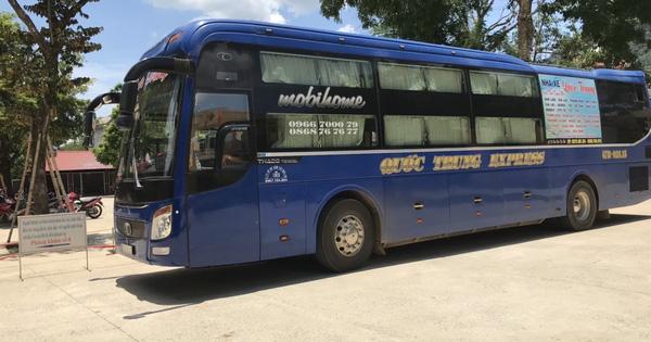 Cách ly 10 người đi trên xe khách cùng ca Covid-19 số 620 ở Hà Nam
