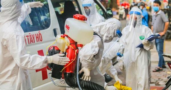 Hành trình di chuyển nhiều nơi của bệnh nhân 71 tuổi mắc Covid-19 ở Hà Nội
