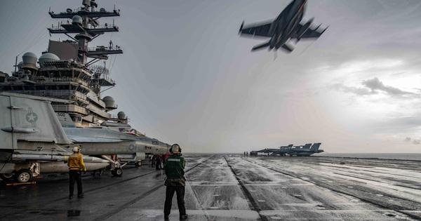 Những hình ảnh đầu tiên của cuộc tập trận Mỹ ở biển Đông