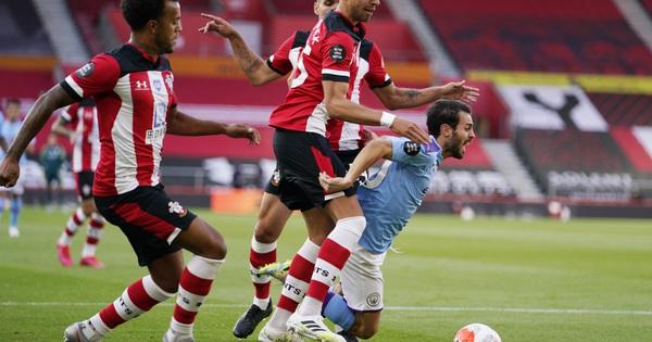 Man City bại trận ở St.Mary''s bởi siêu phẩm sút xa 37m