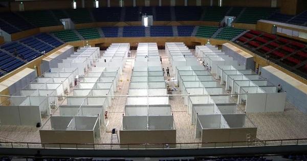 Hình ảnh bên trong Bệnh viện dã chiến Tiên Sơn - Đà Nẵng sắp hoàn thành