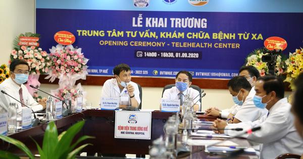 Bệnh viện Trung ương Huế vận hành trung tâm tư vấn, khám chữa bệnh từ xa