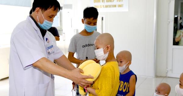 Ghép tủy chữa khỏi u nguyên bào thần kinh cho bé 8 tuổi