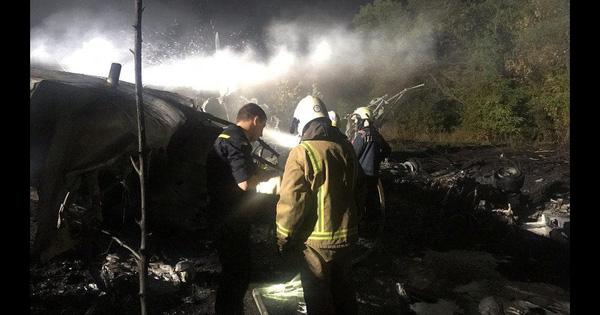 Vụ rơi máy bay quân sự Ukraine: Do lỗi phi hành đoàn trong lúc hạ cánh?