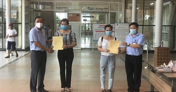 4 bệnh nhân sau cùng xuất viện, Quảng Nam sạch bóng Covid-19