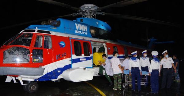 Cấp cứu bằng trực thăng đi vào đời sống