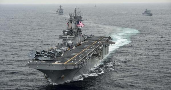 """""""Bộ tứ"""" gia tăng sức ép lên Trung Quốc trên biển Đông"""