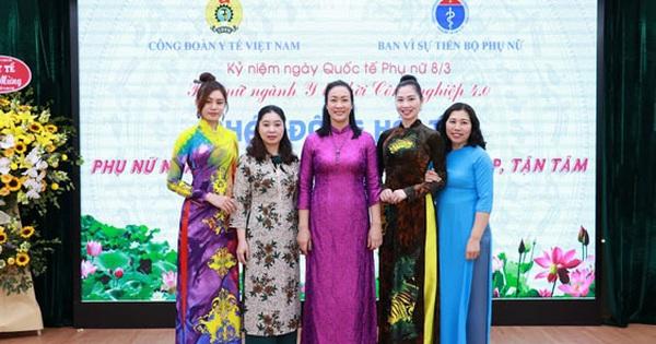 Tôn vinh phụ nữ ngành y tế