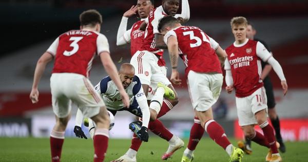 Nghiệt ngã phạt đền và thẻ đỏ, Tottenham thua đau Arsenal trận derby