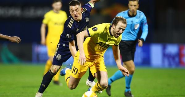 Tottenham thua sốc, dừng bước đầy tủi hổ ở Europa League