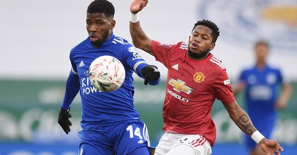 Tứ kết FA Cup: Công cùn thủ kém, Man United thua Leicester tan tác