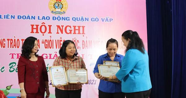 """Tuyên dương 278 nữ CNVC-LĐ """"Giỏi việc nước - đảm việc nhà"""""""