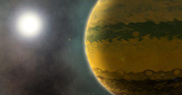 """Phát hiện siêu hành tinh còn """"sơ sinh"""" đã nặng bằng 133 Trái Đất"""