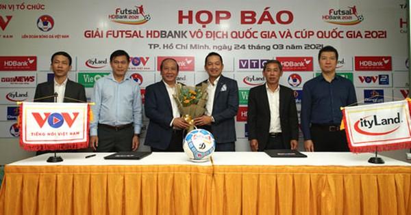 Futsal HDBank Vô địch quốc gia 2021 khởi tranh từ ngày 28-3