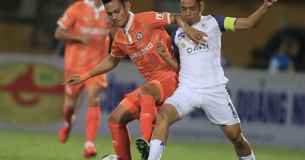 Hà Nội FC thất bại trước T.Bình Định ngay trên sân nhà Hàng Đẫy