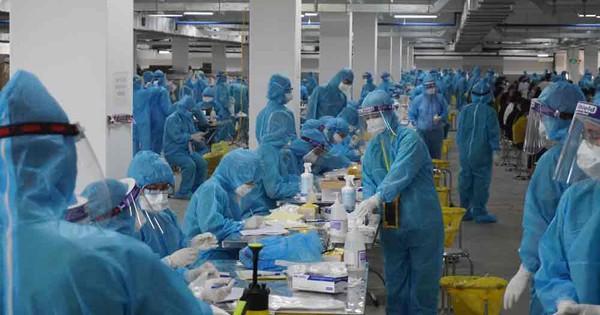 Ổ dịch Công ty Hosiden thêm 159 ca dương tính SARS-CoV-2, Đoàn Bộ Y tế về họp khẩn