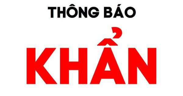 KHẨN: Tìm người đi đi chuyến xe khách Hà Nội - Lạc Sơn, Hoà Bình