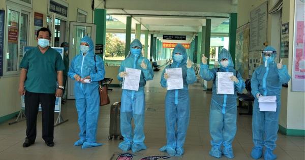 Đà Nẵng đã cho ra viện 4 bệnh nhân khỏi Covid-19