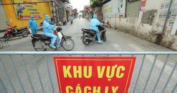 Phát hiện 4 học sinh Hà Nội học ở Bắc Ninh dương tính SARS-CoV-2
