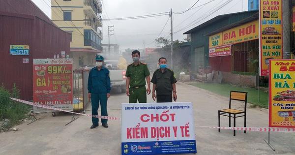 Hai công nhân trong KCN Vân Trung dương tính SARS-CoV-2, tiếp xúc nhiều người