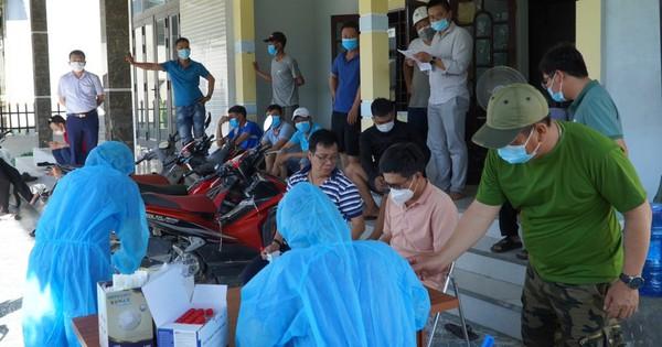 Quảng Bình: Phát hiện 3 ca dương tính với SARS-CoV-2 đầu tiên trong cộng đồng