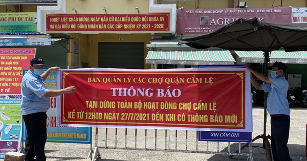 Người bán chè ở chợ Cẩm Lệ - Đà Nẵng dương tính với SARS-CoV-2