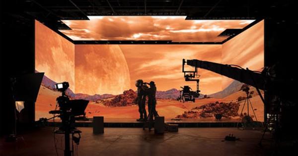 Phim trường ảo đầu tiên trên thế giới