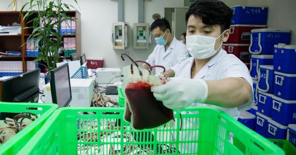 Gần 3.000 đơn vị máu